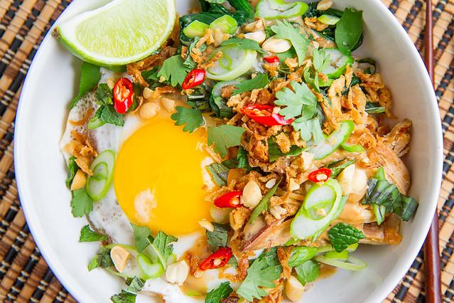 Spicy Peanut Chicken Rice Bowl | Flickr - Photo Sharing!