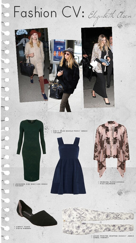 daisybutter - UK Style and Fashion Blog: fashion cv, style inspiration, elizabeth olsen, celebrity style, street style