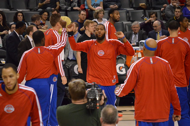 Greg Monroe Player Introductions from Flickr via Wylio