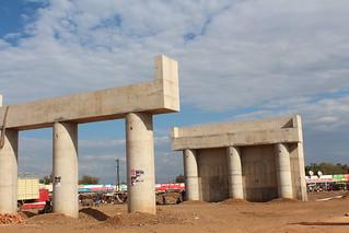 New Bypass under construction...Kondele
