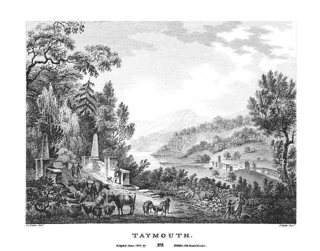 etching: Taymouth