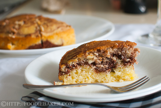 Cold Oven Cream Cheese Marble Cake