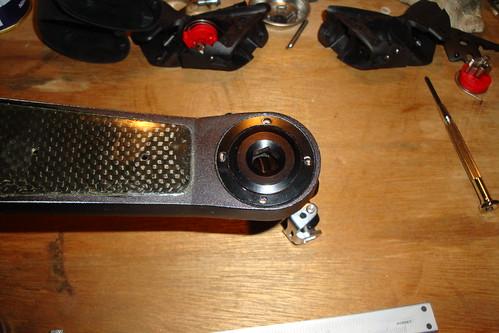 Vista Integral pedal and cranks