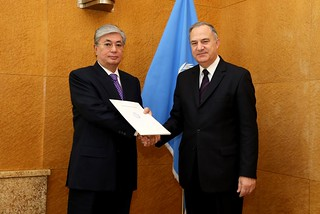 NEW PERMANENT REPRESENTATIVE OF MALTA PRESENTS CREDENTIALS TO DIRECTOR-GENERAL OF UNOG