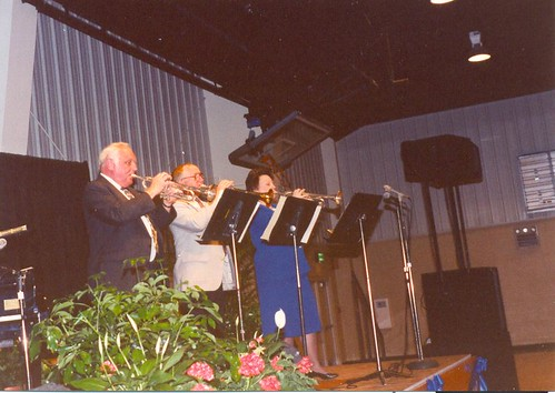 Alumni trumpet trio