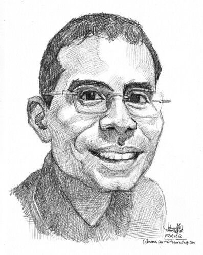 guy portrait in pencil 15062012