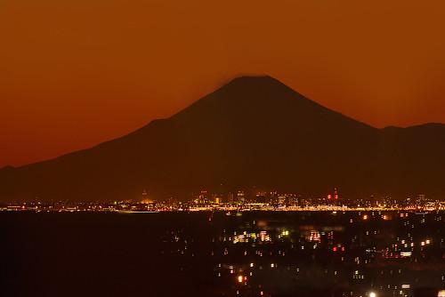 Fuji from Chiba by yoko.wannwannmaru