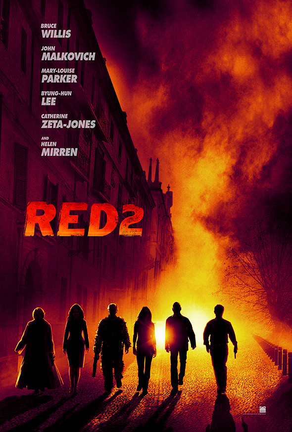 Red 2 Poster 2