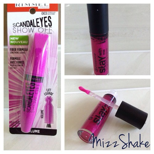 Some new drug store goodies #essence #rimmellondon #newmascara #newlipgloss #drugstore #shoppersdrugmart #walmart #instahaul #beautyjunkie #bblogger #beautyblogger #youtuber #mizzshake