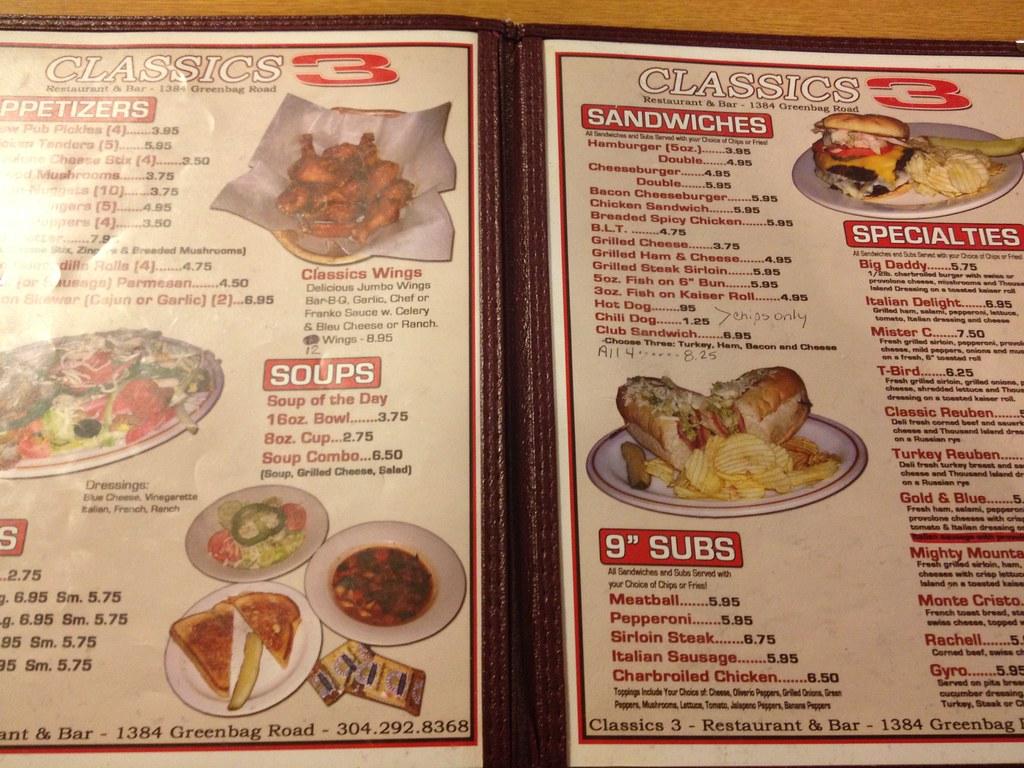 Classics 3 Restaurant & Lounge