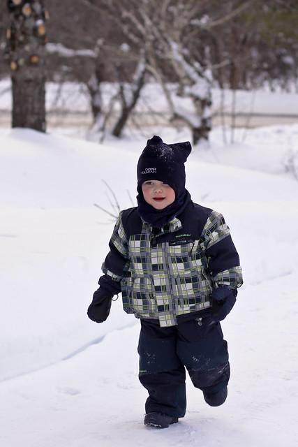 Manu et l'hiver