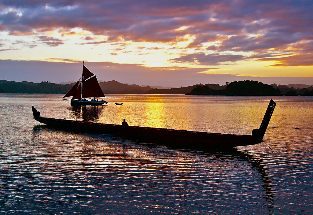 New Zealand - Waitangi Sunset