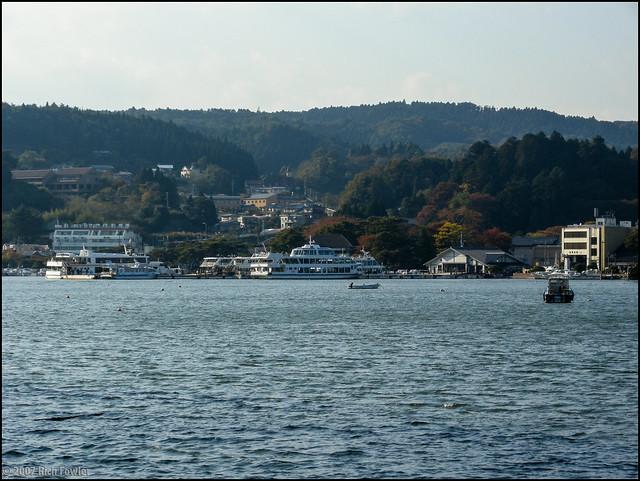 Matsushima from the Fukuura Bridge