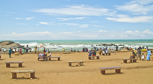 Kanyakumari beach