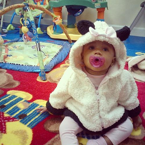 My little sheep!!  #hickstwins #tenleybear