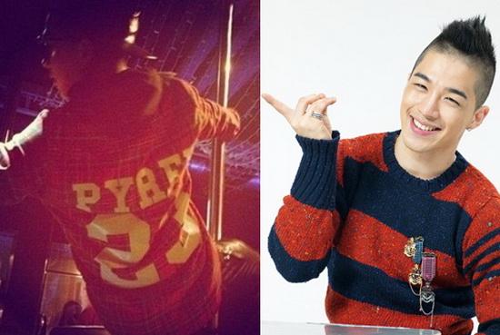 G-Dragon Sebar Gambar Taeyang Menari Tiang