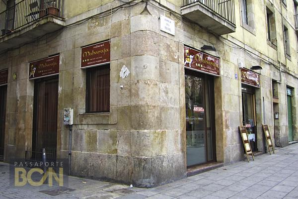 restaurante Maharaja, Barcelona