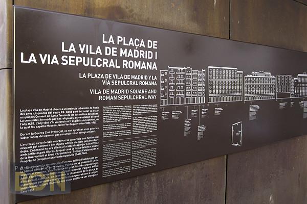 Plaça de la Vila de Madri, Barcelona