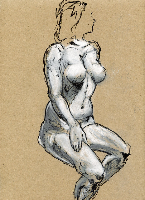 Life Drawing - Sandy Hill-2