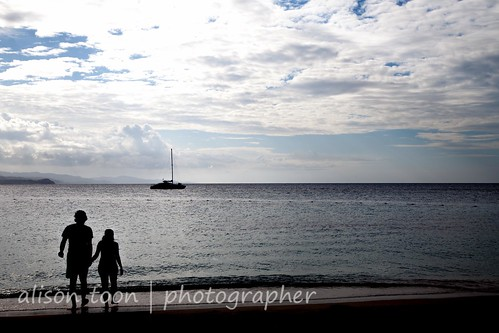 blue sea vacation sky copyright holiday tourism beach water seaside couple photographer turquoise restful peaceful tranquility calm jamaica caribbean tranquil sillhouette montegobay doctorscove alisontoon