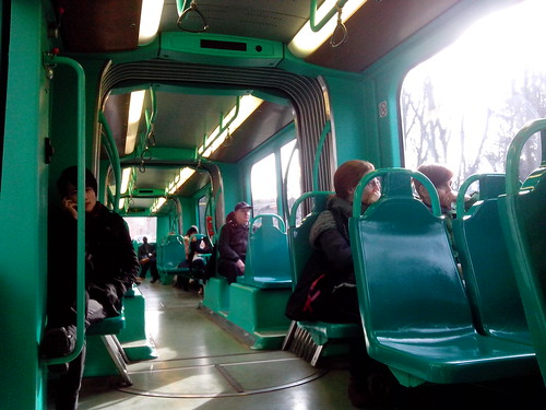 Viaggio sul tram e sotto il sole by Ylbert Durishti