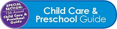 child care preschool button