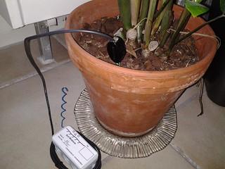 Bodenfeuchte Sensor Node mit VG400 SENSOR