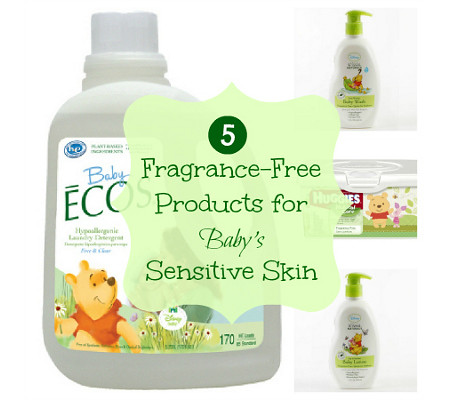 Fragrance Free Products for Baby
