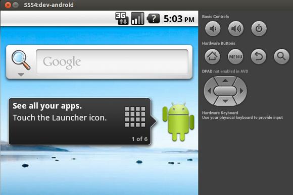 android emulator on ubuntu 14.04