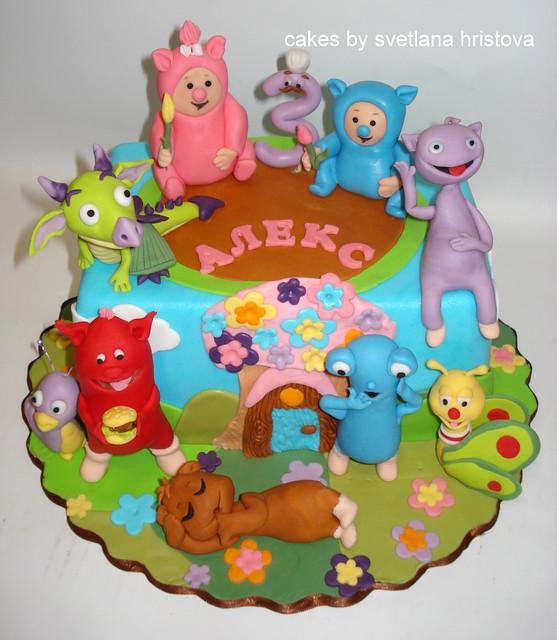 Cake Design Baby Tv : Baby TV Cake -2 Flickr - Photo Sharing!