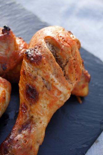 Pilons de poulet tandoori chez becky et liz blog de - Comment cuisiner des pilons de poulet ...