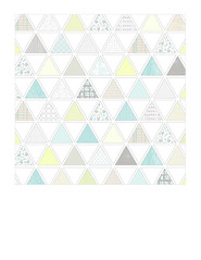 1a pattern-filled triangles LARGE SCALE - 7x7 inch