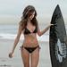 Nikon D800 Photos of Beautiful Brunette Swimsuit Bikini Model Goddess by 45SURF Hero's Odyssey Mythology Landscapes & Godde