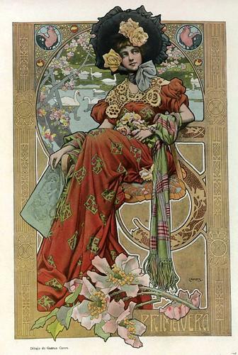 015-Dibujo- Gaspar Camps- Album Salon enero 1903-Hemeroteca de la Biblioteca Nacional de España
