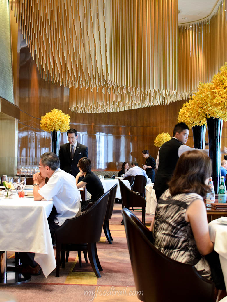 Amber Restaurant, Hong Kong - Inside