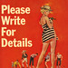 Crest Books s359 - John D. MacDonald - Please Write For Details