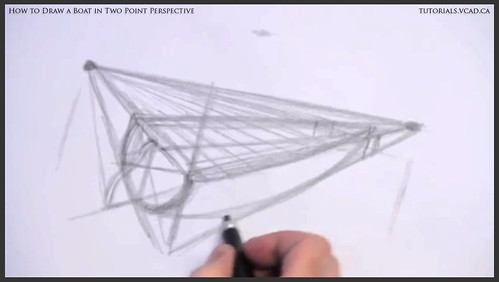 learn how to draw a boat in two point perspective 006