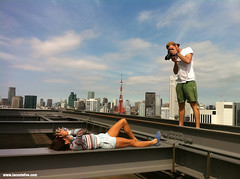 Lacoste L!VE SS13 Campaign Behind-the-Scenes