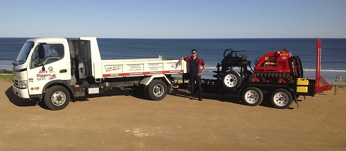 Hire a Dingo Digger at Strathdale