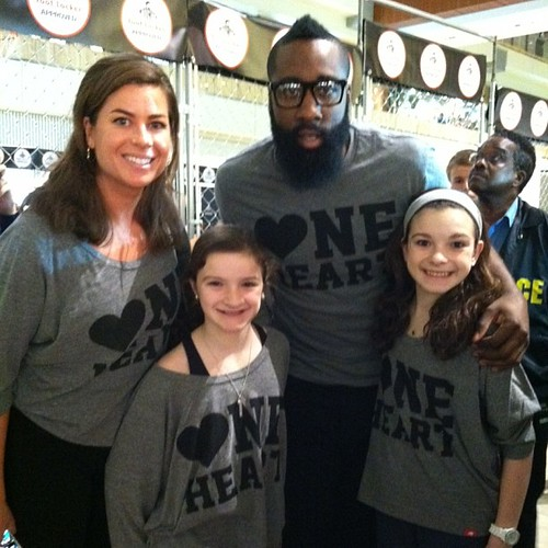 James Harden - Houston Rockets - One Heart Shirt