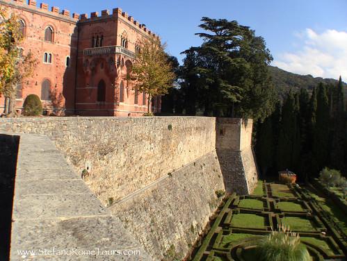 Brolio Castle  (Castello di Brolio) in Chianti, Tuscany