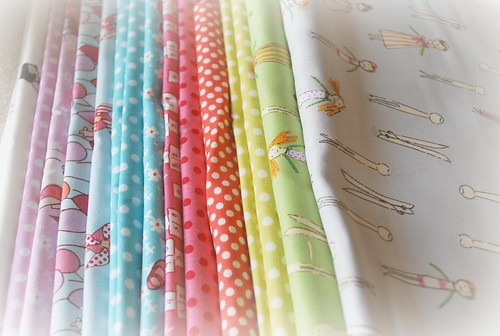 Fabrics for Quilting Bee