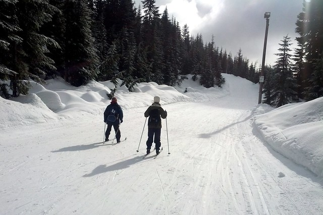 Cross Country Skiing at Cypress