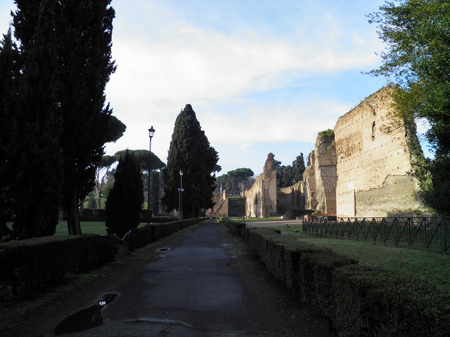 Baths of Caracalla, Caelian Hill, Rome