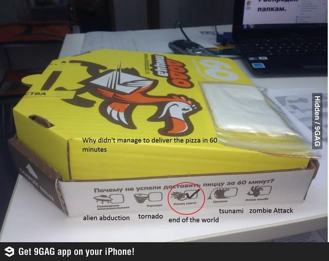 9GAG Dodo Pizza