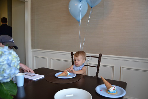 Bennett's 1st Birthday! - 28