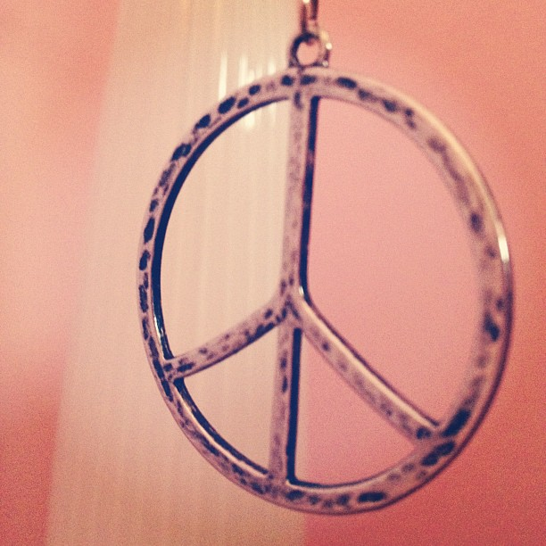 Day49 my first peace sign necklace EVER 2.18.13 #jessie365