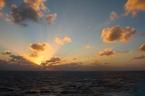 Sunset at Sea - Carnival Dream