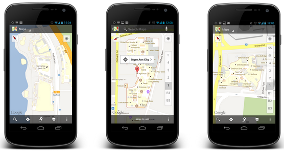 Indoor Google Maps For Android Now Available In Singapore