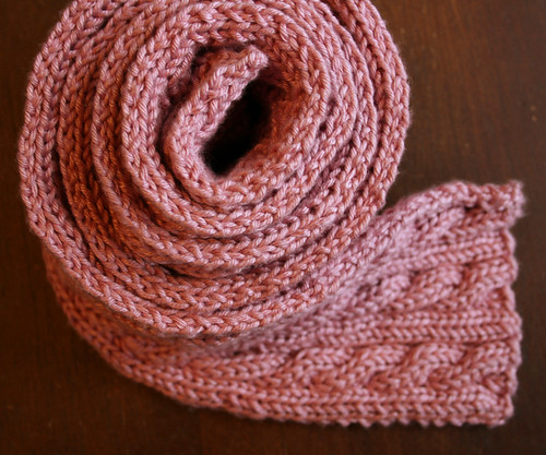 Palindrome Scarf 1
